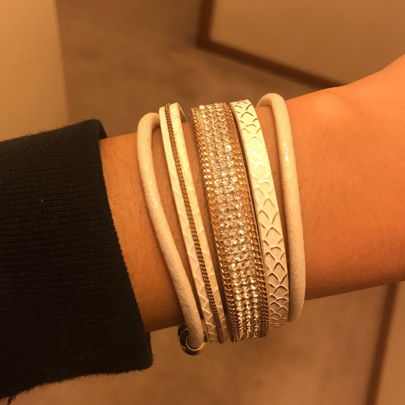 Jewelry - Cute Multi Stack Bracelet